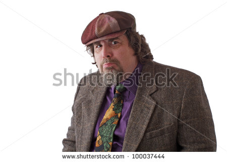 stock-photo-heavy-middle-aged-man-with-goatee-cap-and-tweed-jacket-with-thoughtful-expression-horizontal-100037444